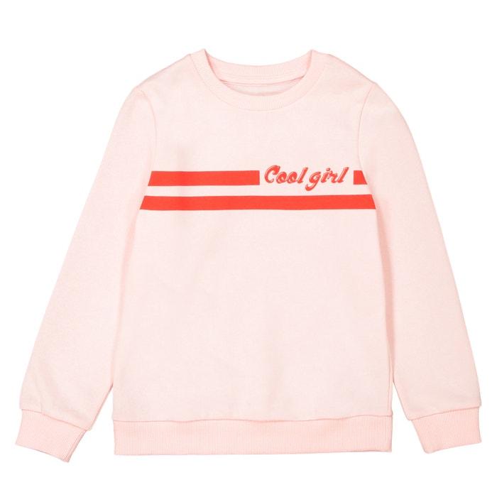 Cool Girl Printed Sweatshirt, 3-12 Years  La Redoute Collections image 0