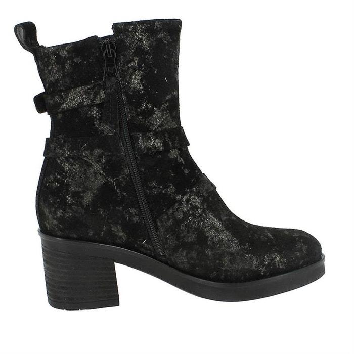 Visiter Le Nouveau En Ligne vue Bottines / boots cuir noir Mjus Boutique En Ligne Pas Cher Sortie Acheter Un Excellent Pas Cher 2018 Plus Récent 3YTZI