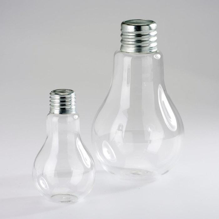 Vase (lot de 2) Galice verre et métal AM.PM
