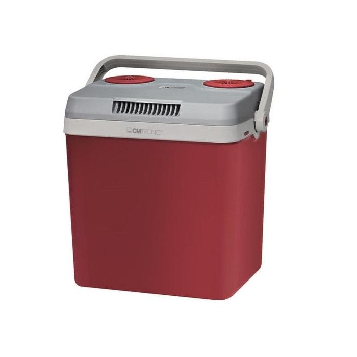 glaci re lectrique 30l clatronic kb3538 rouge clatronic la redoute. Black Bedroom Furniture Sets. Home Design Ideas