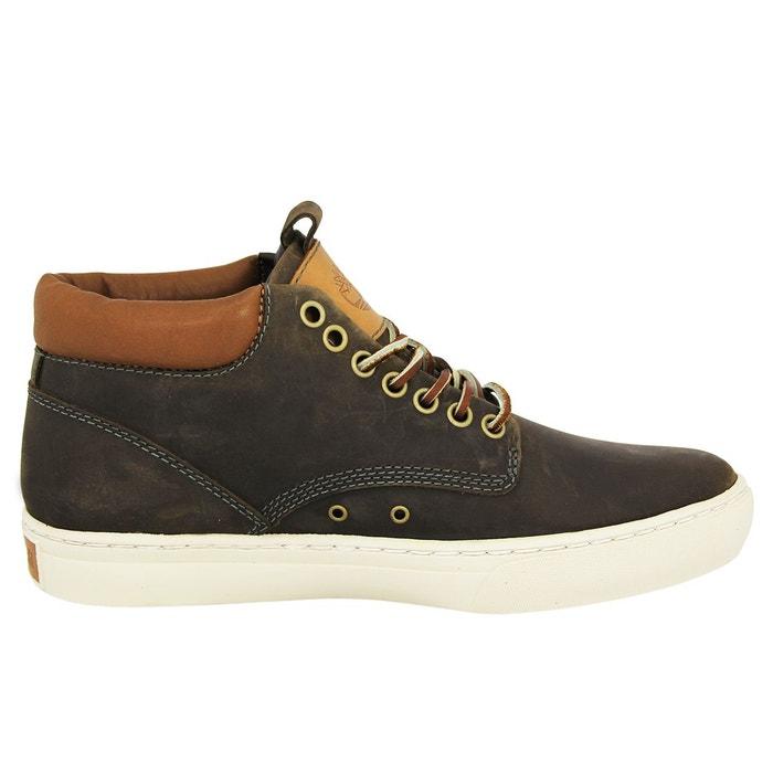 Timberland adventure 2.0 cupsole chukka chaussures de ville homme cuir brun marron Timberland
