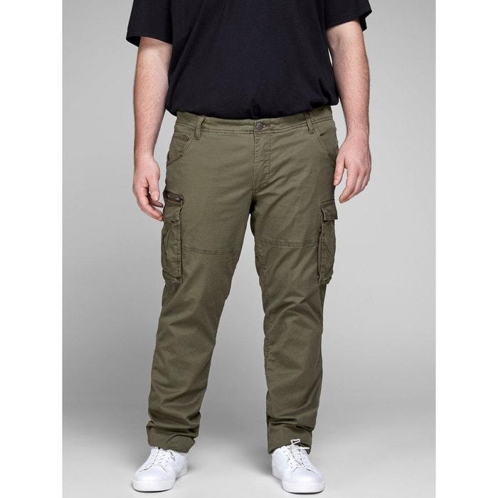 En Tailles Pantalon Jack Grandes amp; Olive Militaire Style Jones Night fqqEwxd