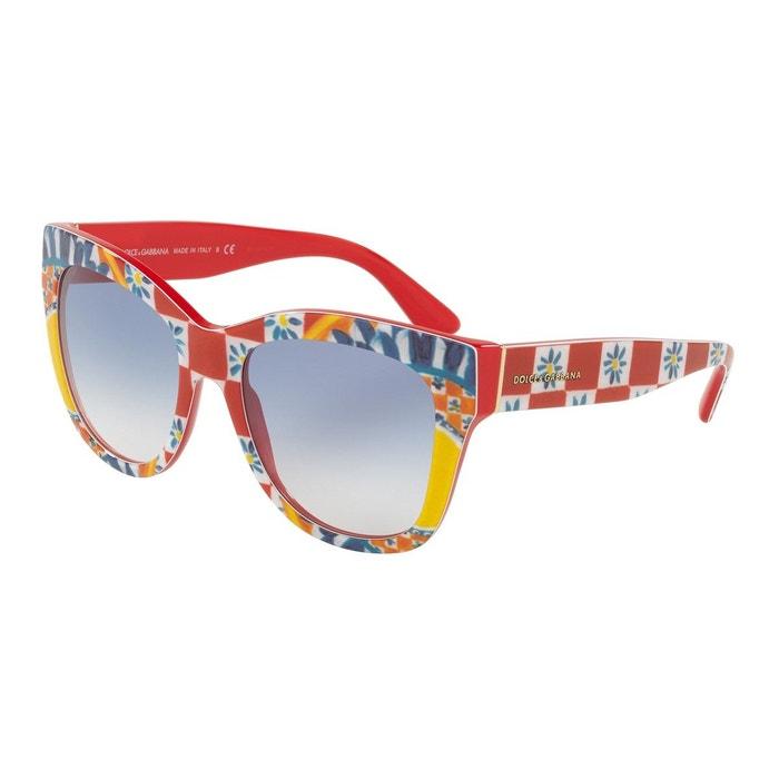 8aafae22956af Lunettes de soleil dg4270 rouge Dolce Gabbana   La Redoute