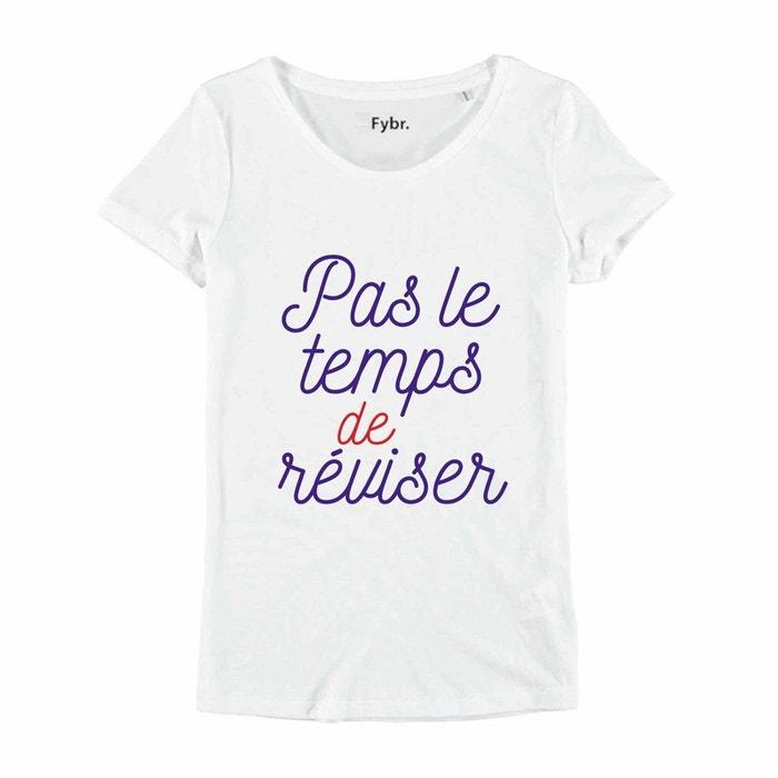 Shirt Redoute Pas Enkr Temps Tee Le De Réviser La HAnqTUPT