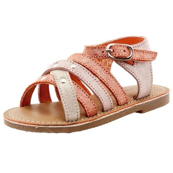 28cb192c70e80a Sandales / nu-pieds cuir multicolore Sucre D'orge | La Redoute