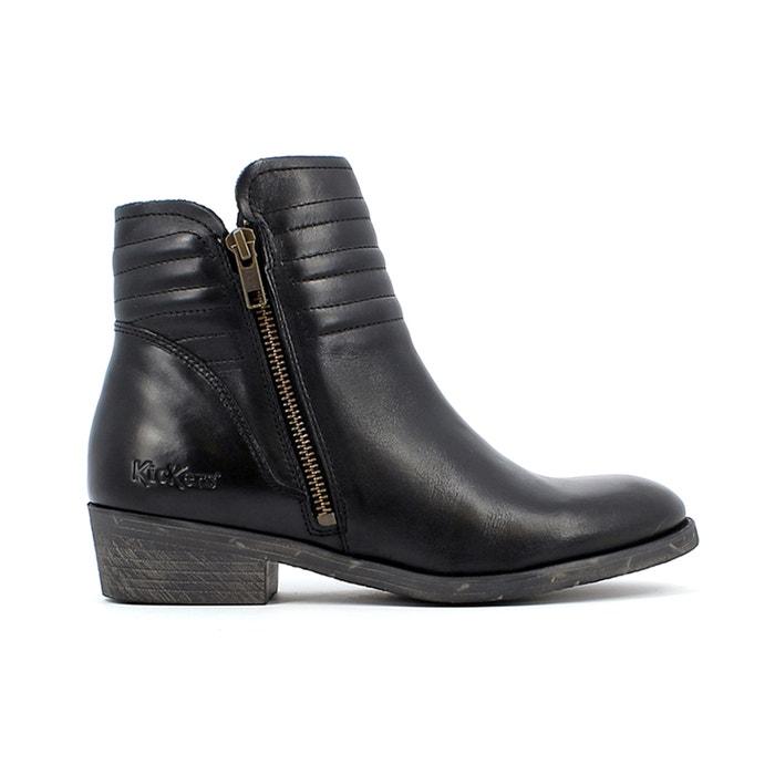 Image Boots cuir motardes Amoto KICKERS