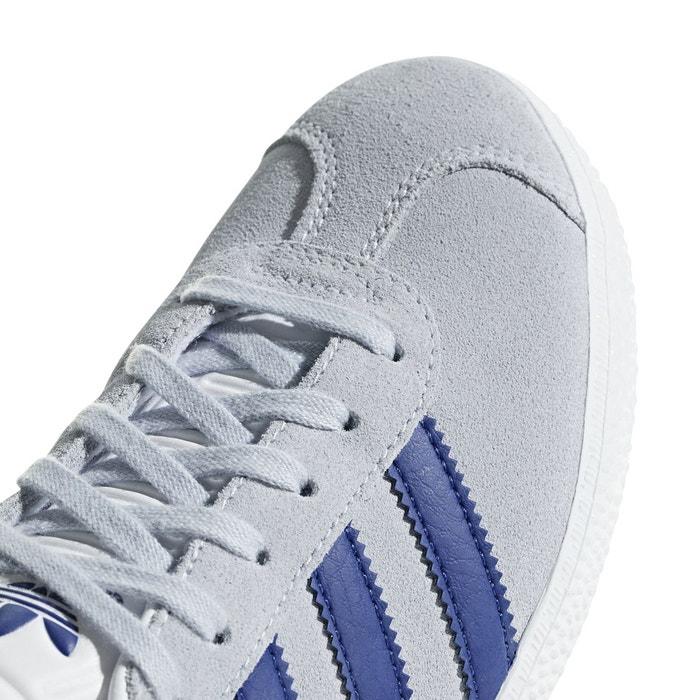 Baskets gazelle j grisbleu Adidas Originals   La Redoute