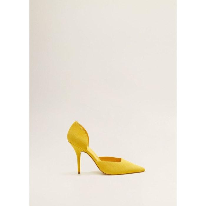 cuir Chaussures talon à MANGO Chaussures MANGO à cuir talon w8zFqPP