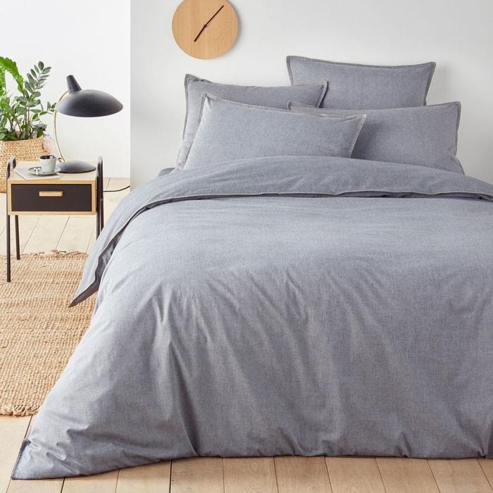 housse de couette pur coton kolza la redoute interieurs la redoute. Black Bedroom Furniture Sets. Home Design Ideas