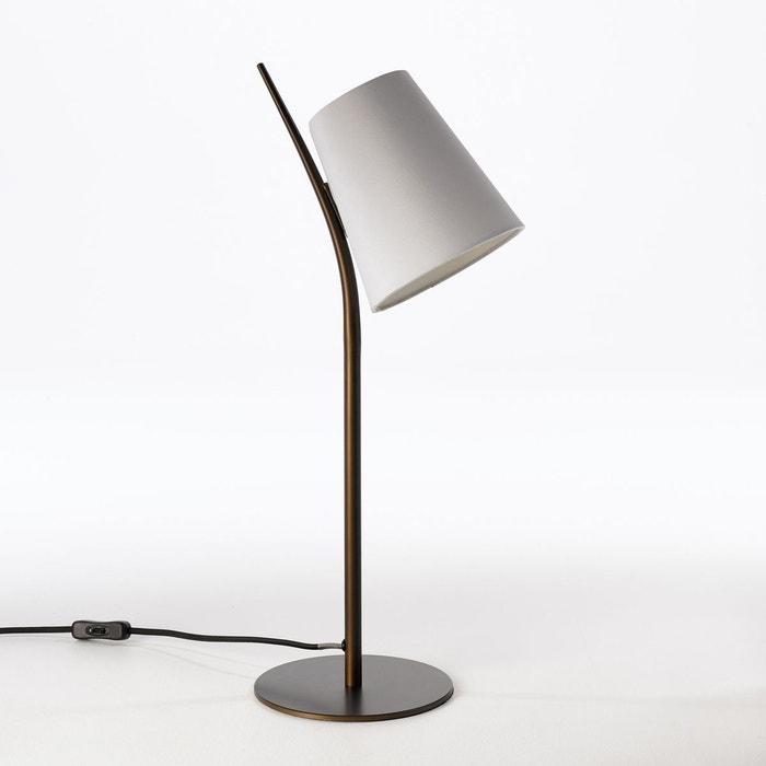 lampe poser jouanico blanc am pm la redoute. Black Bedroom Furniture Sets. Home Design Ideas