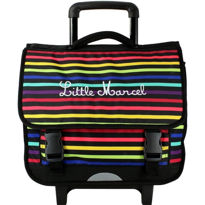 cartable scolaire roulettes assortis little marcel la redoute. Black Bedroom Furniture Sets. Home Design Ideas
