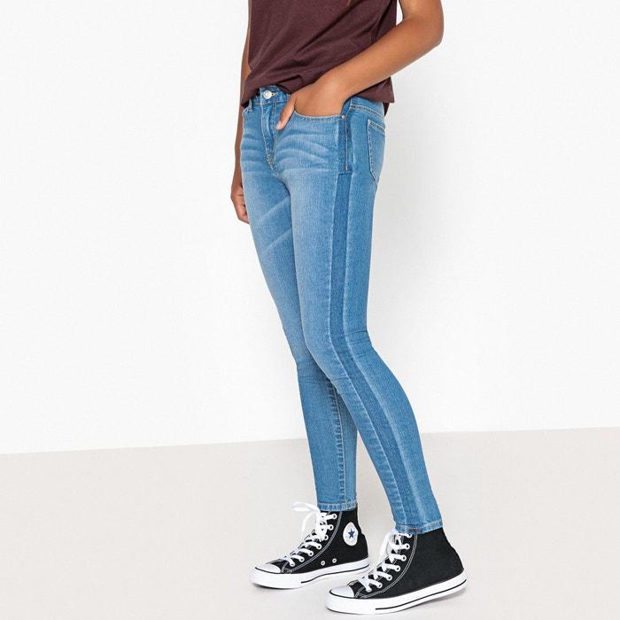Jeans skinny banda laterale 10-16 anni  La Redoute Collections image 0