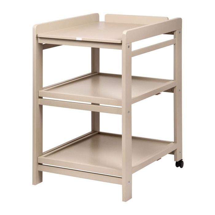 table langer comfort roues quax la redoute. Black Bedroom Furniture Sets. Home Design Ideas