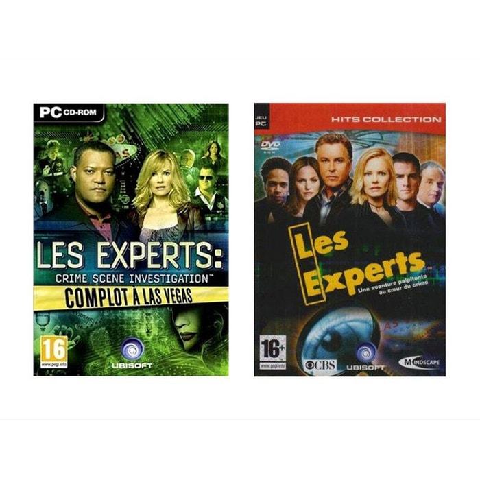 """Pack 2 jeux """"Les Experts"""" Volume 1 - PC"""