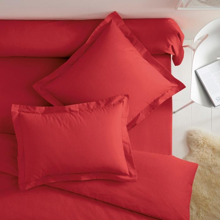 Image Cotton Pillowcase with Flat Ruffle SCENARIO