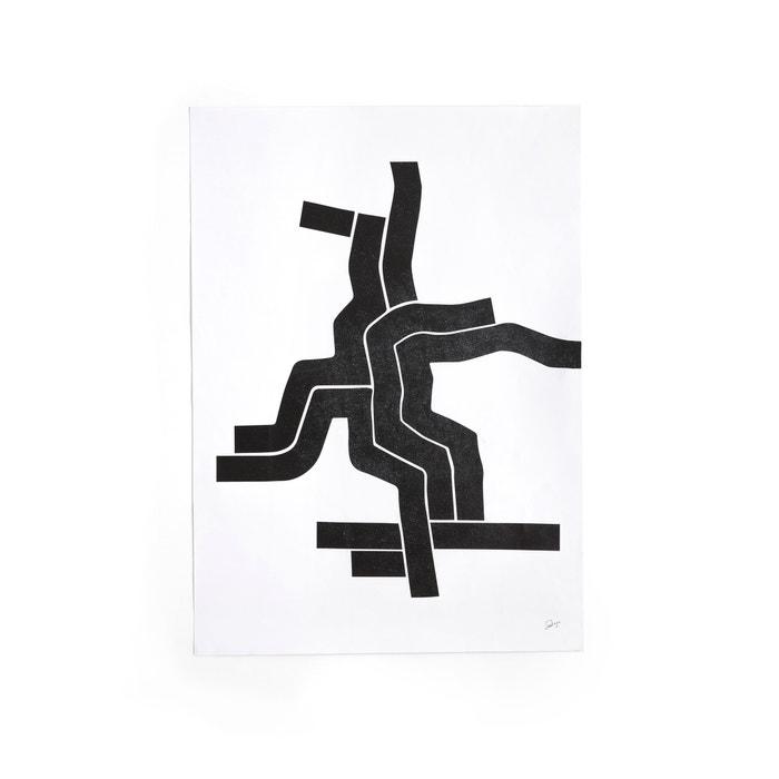afbeelding Affiche met 1 motief in zwart en wit, Bialik AM.PM.