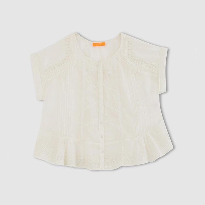 afbeelding Wijde blouse met borduursel DANA BA&SH
