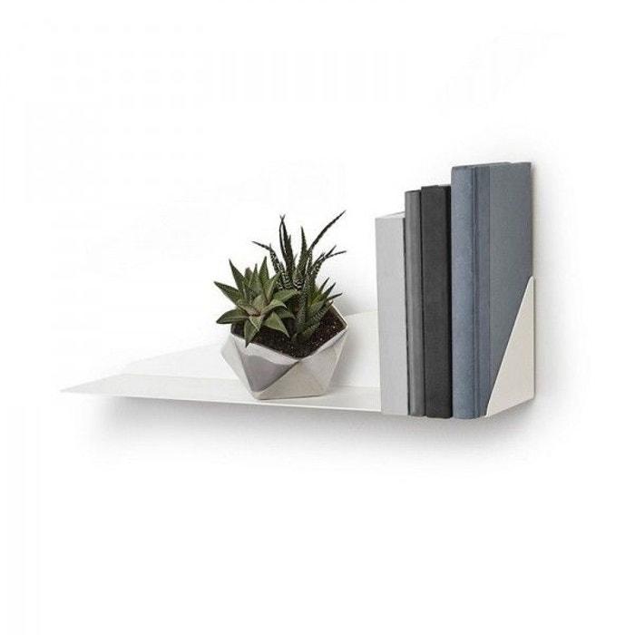 etag re murale pliage umbra stealth shelf blanc umbra la redoute. Black Bedroom Furniture Sets. Home Design Ideas