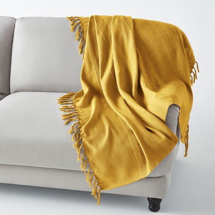 plaid artisanal nedo la redoute interieurs la redoute. Black Bedroom Furniture Sets. Home Design Ideas