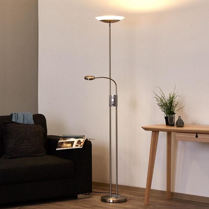 lampadaire led olivia intensit variable liseuse satin. Black Bedroom Furniture Sets. Home Design Ideas