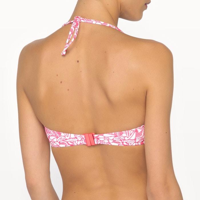 bikini y con de Sujetador Collections smocks Redoute estampado La I6n4zz