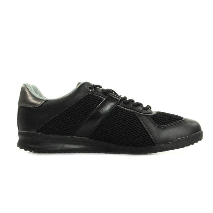 Sneaker uomo disb2 coated/mesh noir, gris Versace