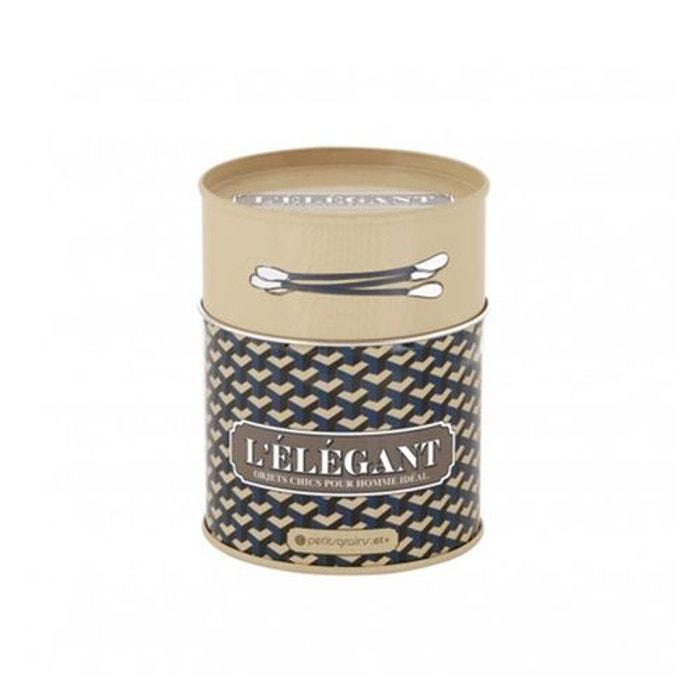 Boite coton tiges elegant dlp beige derriere la porte la for La redoute boite a couture