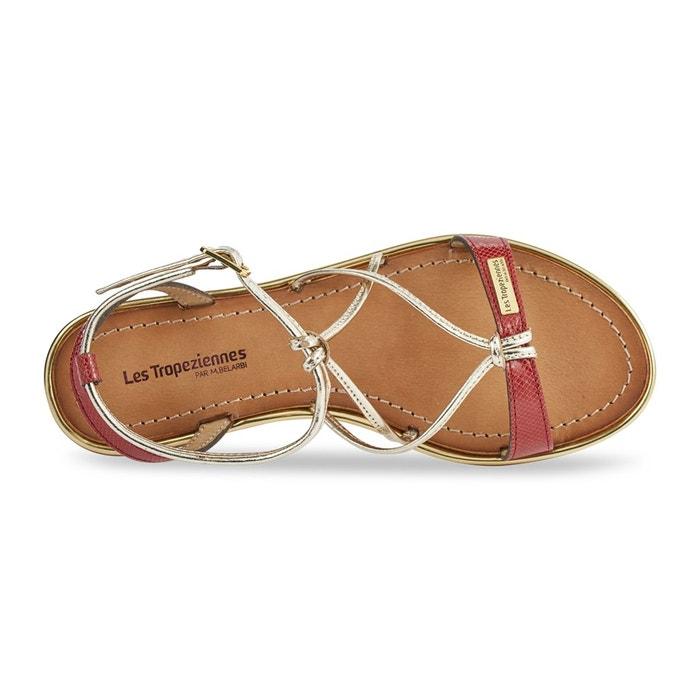Sandales cuir hirondel Les Tropeziennes Par M Belarbi