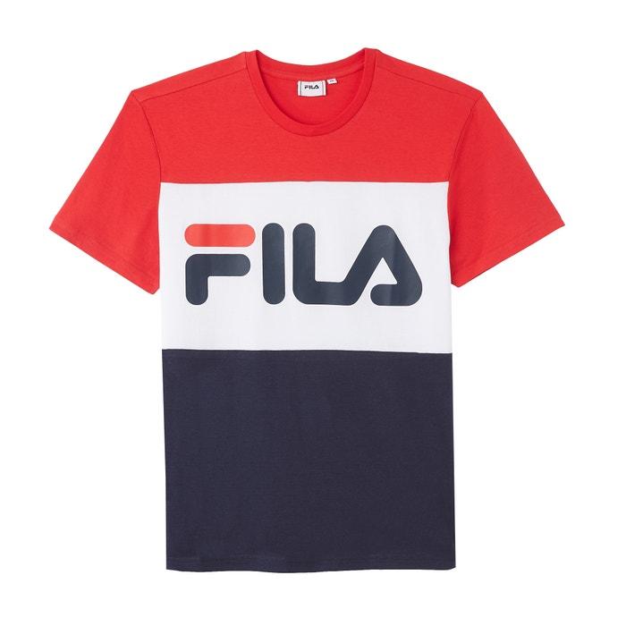 9285415e Printed crew neck t-shirt Fila | La Redoute
