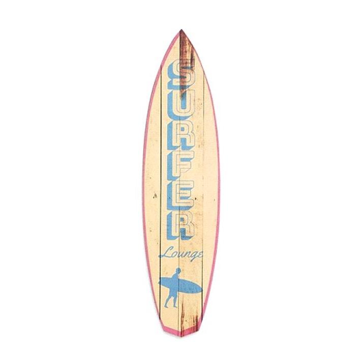 Mini Planche De Surf Deco : Dcoration murale en bois planche de surf cm modle united