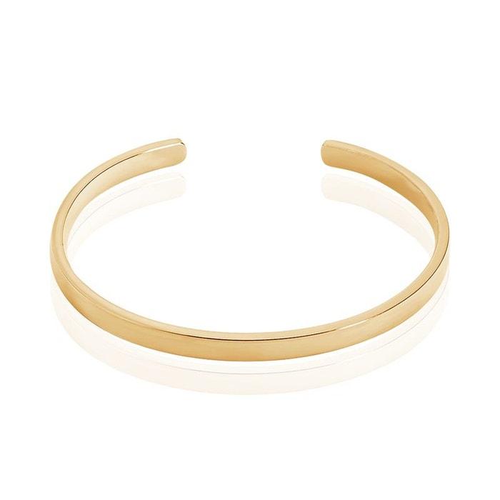 Style De Mode De Prix Pas Cher Sortie 2018 Bracelet jonc plaqué or diam 56mm jaune Histoire D'or | La Redoute uEybJQXc