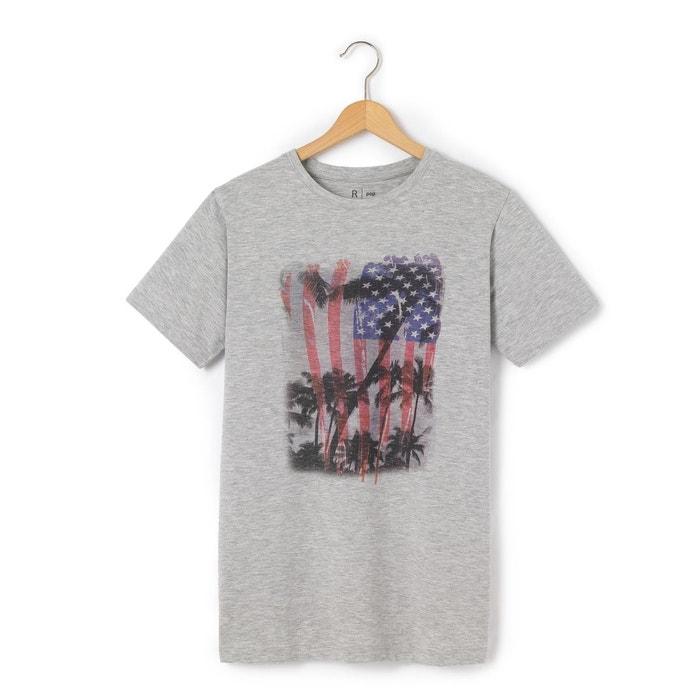 T-shirt 10-16 ans imprimé drapeau US
