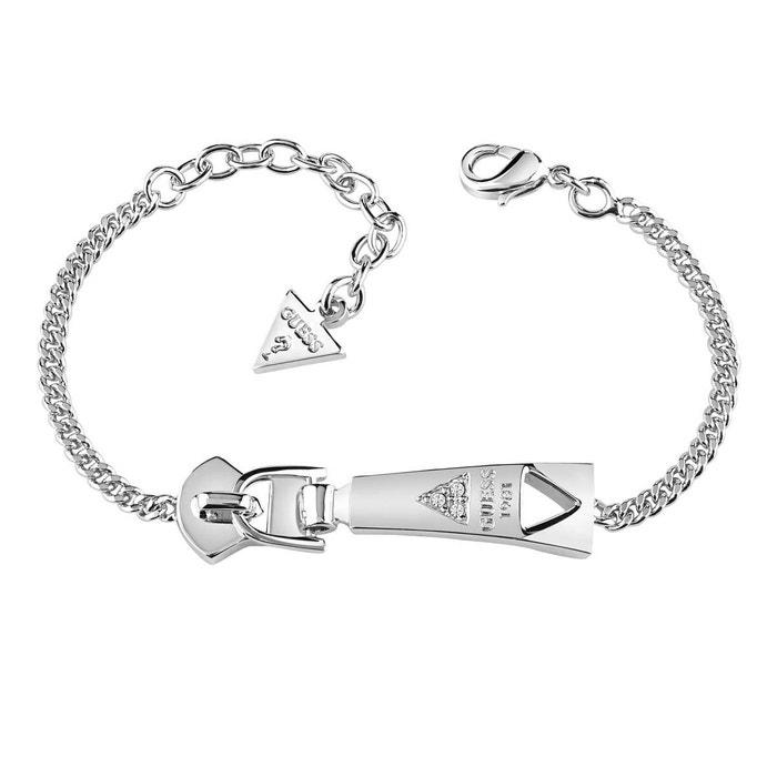 Bracelet métal cristal blanc Guess | La Redoute Meilleure Vente À Vendre meilleur Style De Mode Fourniture Sortie Vente Manchester q7bvSt6