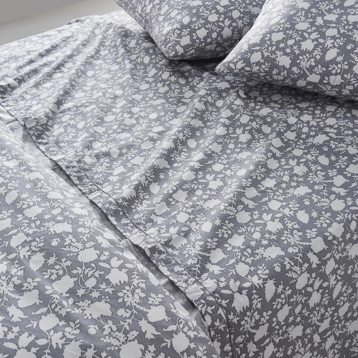Image Céleste Floral Print Flat Sheet La Redoute Interieurs