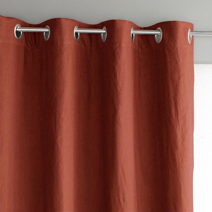 Image Tenda in lino lavato oscurante con occhielli, Private AM.PM.