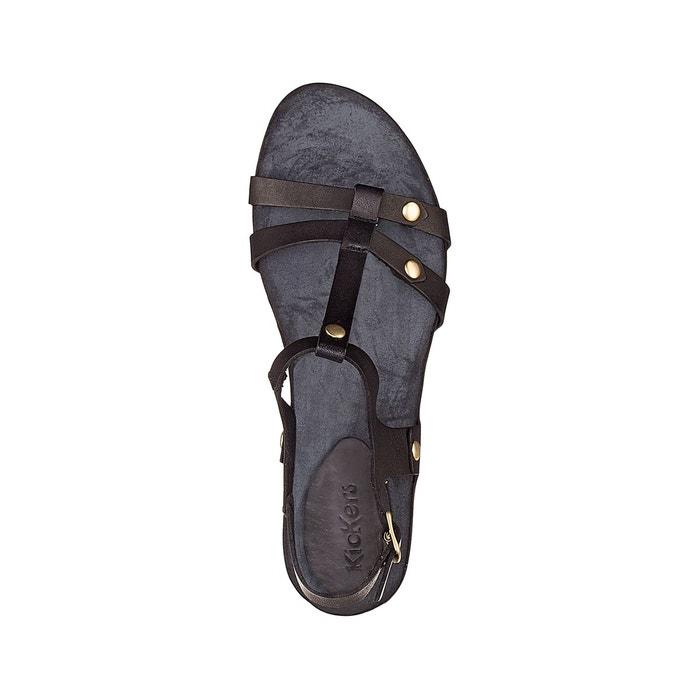 Sandales à talon takit noir Kickers