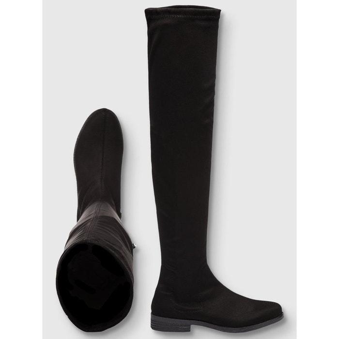 Bottes cuissardes décontractées black Bianco