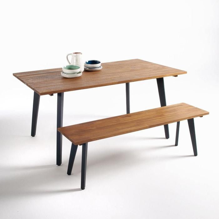 Table de jardin, acacia fsc®*, hiba acacia La Redoute Interieurs ...