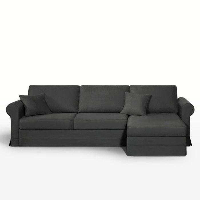 Image Canapé d'angle lit, couchage express, coton demi natté, Yukata La Redoute Interieurs