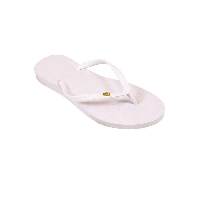 Amazonas Tongs femme  Fun Logo Blanc BLANC - Chaussures Tongs Femme