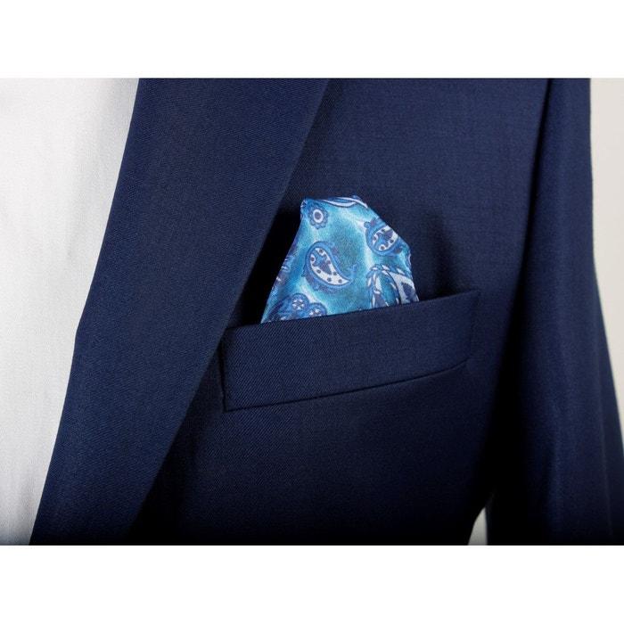 283871d3c3bc Costume Homme Napoli modern fit laine viscose bleu marine - VERSACE 19.69