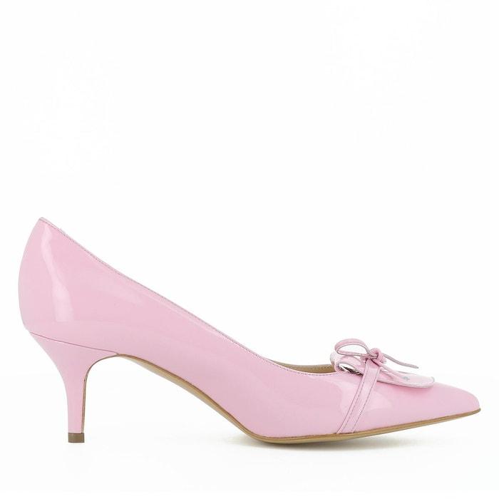 Escarpins femme rose Evita