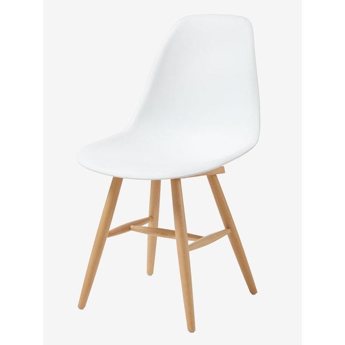 Chaise Scandinave enfant, assise H 45 cm
