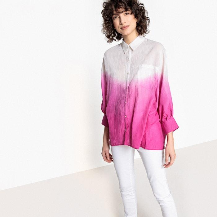 Рубашка с переходом цветов, 100% хлопка  La Redoute Collections image 0