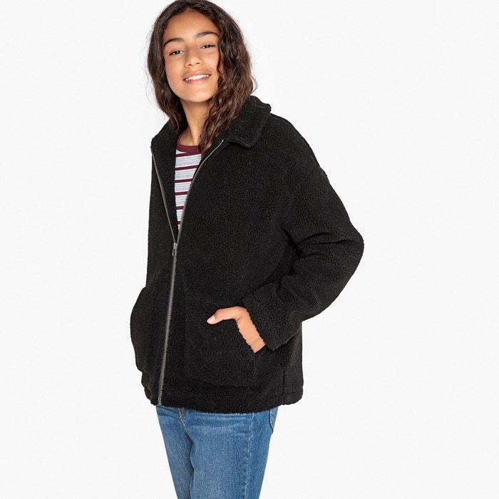 Куртка из искусственного меха, 10-16 лет  La Redoute Collections image 0