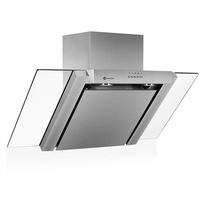 awg s52c hotte aspirante acier 90cm extraction couleur unique klarstein la redoute. Black Bedroom Furniture Sets. Home Design Ideas