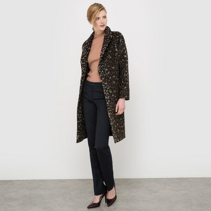 фото Пальто с леопардовым принтом, 35% шерсти atelier R