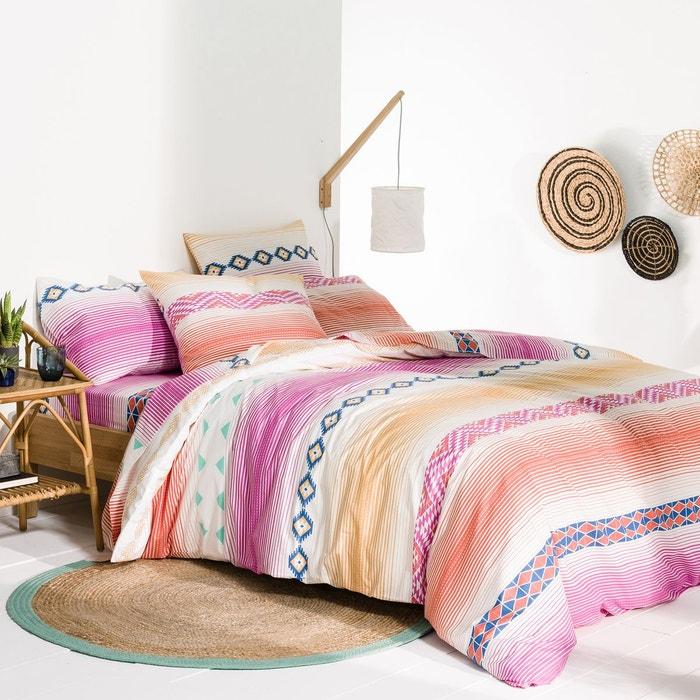 Housse de couette pur coton brazos la redoute interieurs - La redoute linge de lit ...