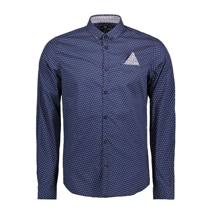 afbeelding Bedrukt hemd, slim model TOM TAILOR