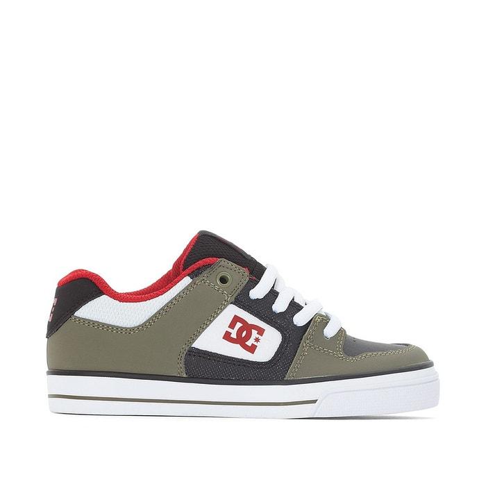 Baskets pure elastic kaki/noir Dc Shoes